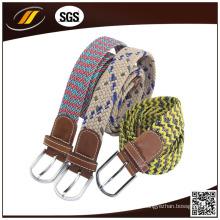 O cinto de tecido mais popular Elastic Trançado Stretch Belt