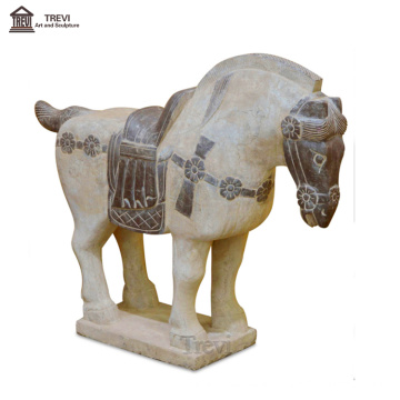 Antique Life Size Marble Statue Sculpture Horse in China