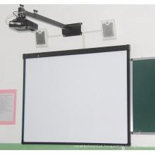 Quadro branco óptico de toque para escola