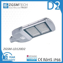 Glass Cover 120W LED Street Light with Ce RoHS