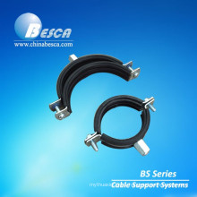 Besca Zinc Plated Steel Pipe Clamps And Insulated Clamps
