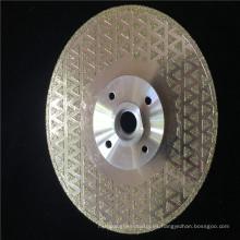 hoja de sierra circular del diamante de mármol del precio de fábrica para el corte de cristal del granito / discos diamantados