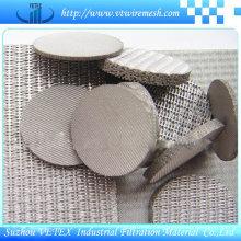 Malla de alambre sinterizado SUS304 o SUS316L