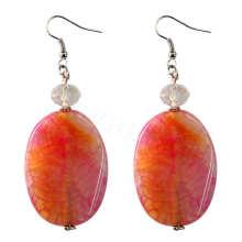 Natural Gemstone Agate Earring