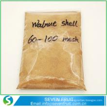Meilleur prix farine de coquille de noix / granulés de noix de détergent