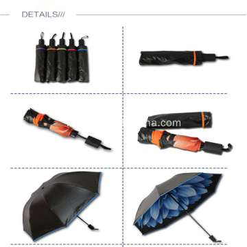 Personalized Dual Quality Folding Umbrella - 95.5CM Arc