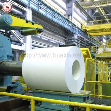 Гофрированный картон Используется сталь с покрытием из алюминиево-цинкового сплава с AZ 60-150 г / м2