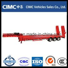 Cimc Low Bed Trailer mit Hydraulikleiter