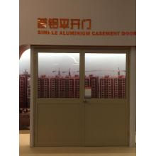 Simple aluminium casement door