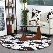 faux fourrure polyester vachette tapis en gros