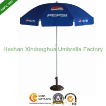 2 м открытом солнце пляжный зонтик с УФ покрытием для отображения (Бу-0040)