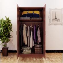 Melamine Particle Board Bedroom Furniture Wardrobe