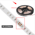Impermeable SMD2835 LED crece la tira