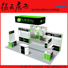 6x3m Attractive New Green China Acrylic Cupcake Display Case Booth
