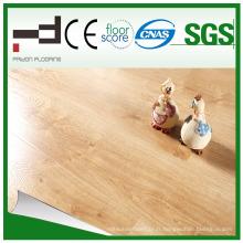 Plancher laminé à la main d'imitation de plancher de bois d'imitation de 12mm