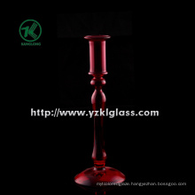 Single Glass Candle Holder for Home Decoration