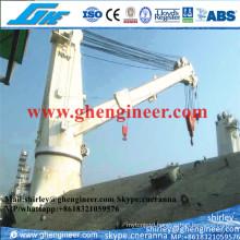 Stiff Boom Marine Deck Crane 25t 35t