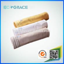 Fábrica de cemento industrial homopolímero acrílico c bolsa fabricante bolsa de filtro de aire directo