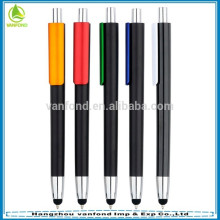 2015 Fancy 2 in 1 touch screen ballpoint pen with stylus