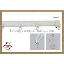 modern plastic curtain rail fitting for smart home