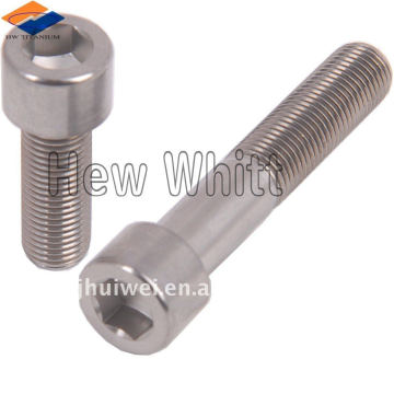 Titanium hex head bolt DIN933