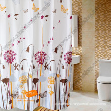 Polyester, PEVA, EVA, PVC Shower Curtain, Bath Curtain, Bathroom Curtain
