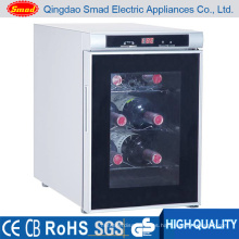 Refrigerador del refrigerador del refrigerador del refrigerador de 8 botellas mini