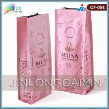 Sac d'emballage de café avec sac de gousset latéral