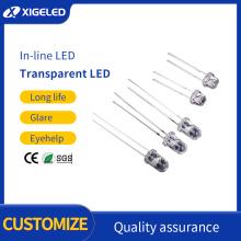 In-line LED lamp beads straw hat lighting