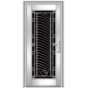 portes extérieures en acier inoxydable