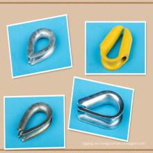 Tipo europeo dedal comercial de la cuerda de alambre