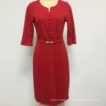 Vestido de mujer Vestido de mujer multicolor de talla grande