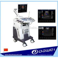 3 / 4d doppler ultra sonido máquina y equipos de ultrasonido cardíaco