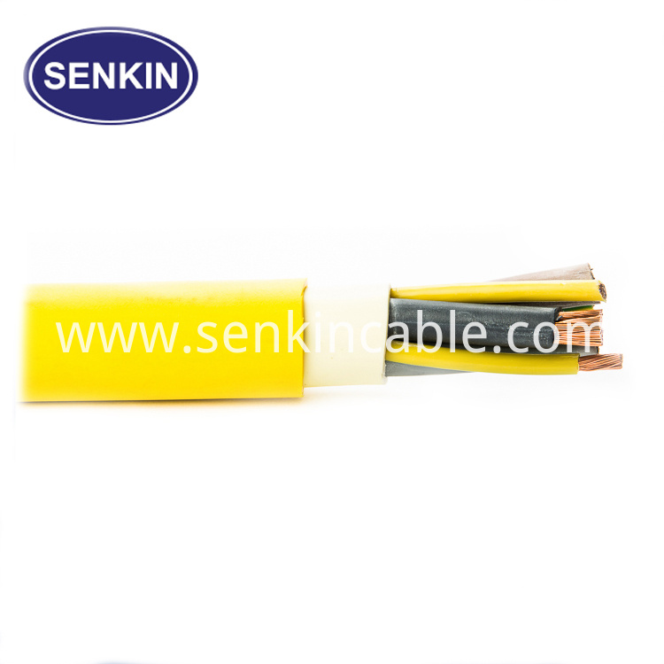Flexible ABS Trailer 15pin TPU Cable