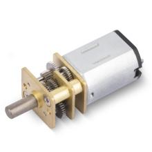 Motores elétricos pequenos escovados altamente precisos do brinquedo com caixa de engrenagens