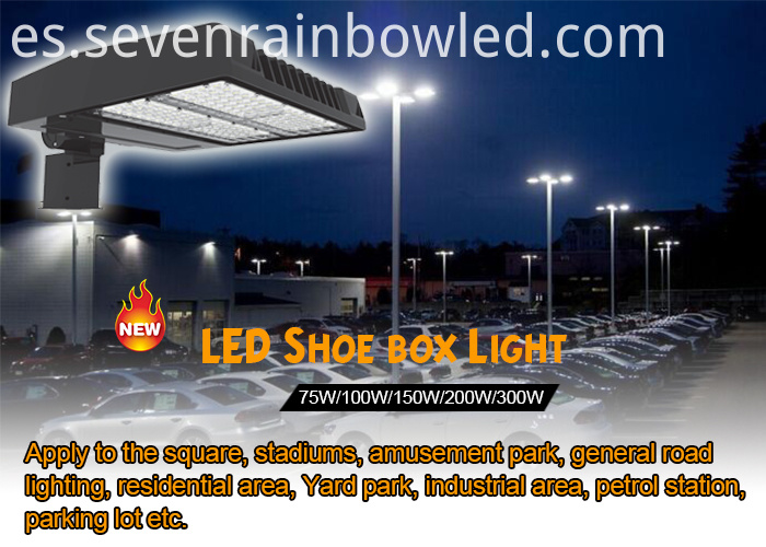 led shoebox light 300w