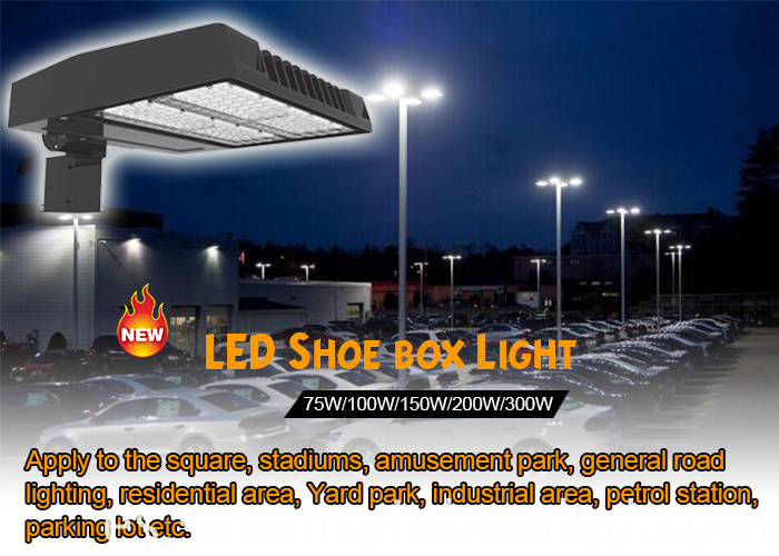 75W high quality led shoe box street light