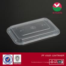 Couvercle de récipient de nourriture en plastique (couvercle 868 et 888)