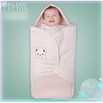 Natural Organic Cotton Sleeping Bag with Envelop Design