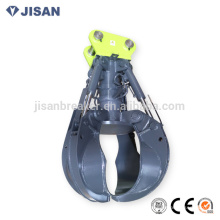 excavator scrap grapple, material for Hyundai R210 R235 excavator