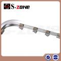 En alliage d'aluminium Métal Type piste courbe ou rideau