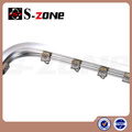 Aluminum Alloy Metal Type curved track or curtain track
