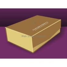 Elegant golden paperboard decorative boxes for gifts