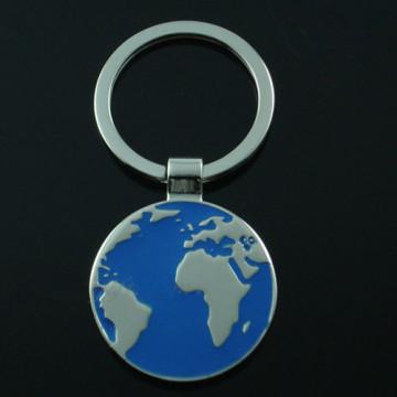 Promotion Tour Logo Premium Metal Europe Map Key Chain (F1253)