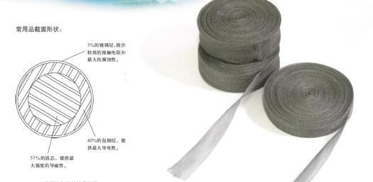 Knitted wire mesh gasket1