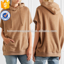 Camel Cotton And Camel Blend con capucha OEM / ODM Manufacture Wholesale Fashion mujeres ropa (TA7029H)