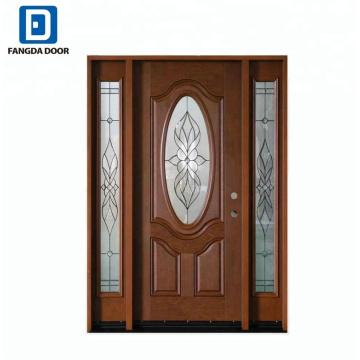 Fangda ovale Tür mit Prehung der Seitenbeleuchtung