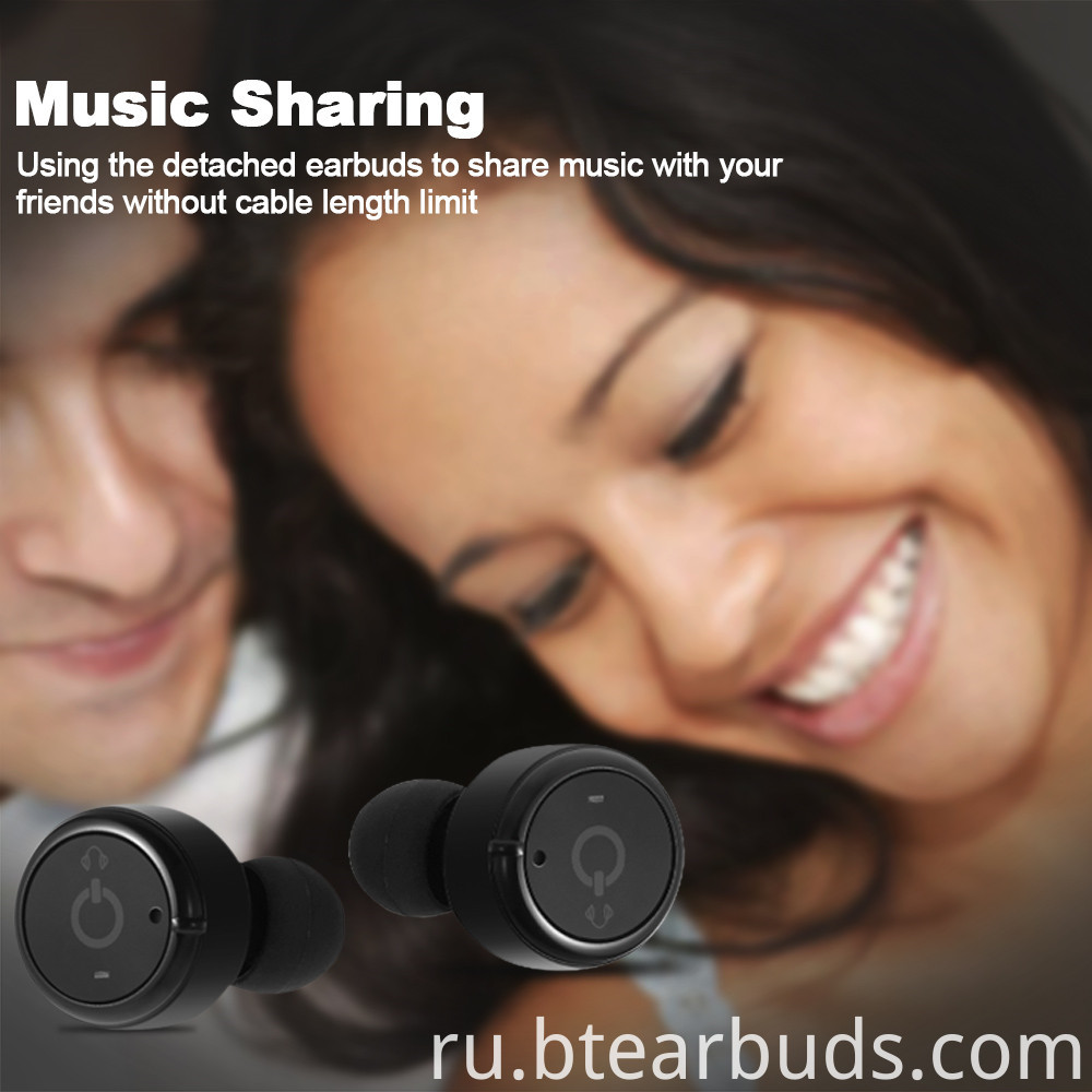 Wireless Bluetooth Earphone3