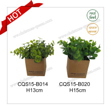 H15cm Real Touch Plastic Artificial Plant Flower Flor de seda