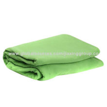 High quality fleece blanket, available in various colors, OEM orders are welcome